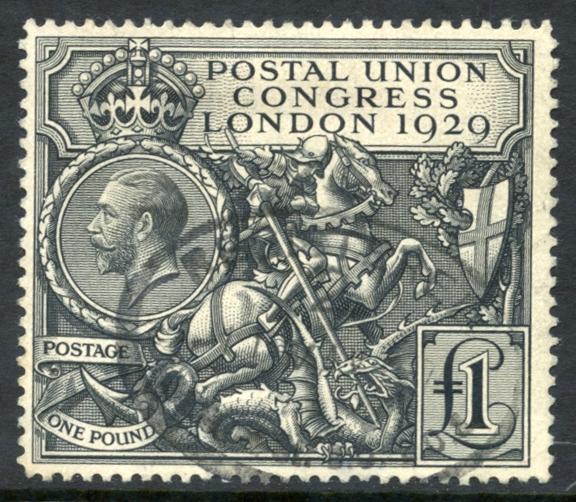 1929 £1 P.U.C, SG.438.