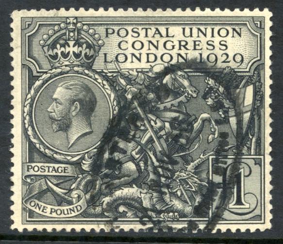 1929 £1 P.U.C