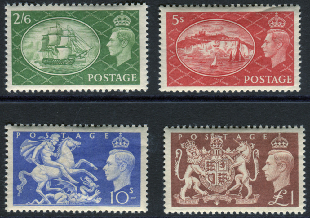 1951 Festival of Britain High Value set