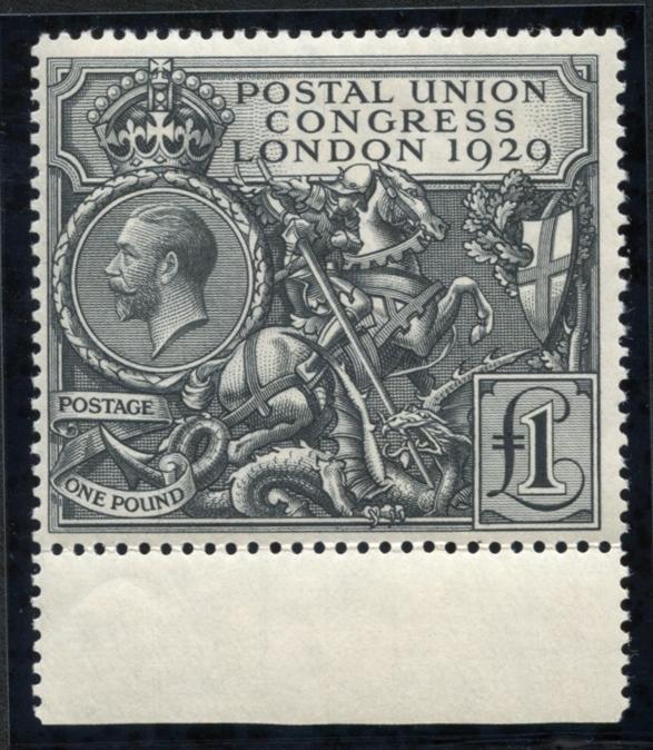 1929 Postal Union Congress £1