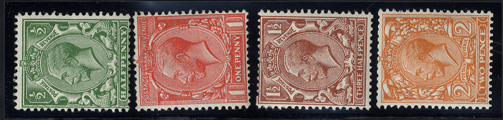1924 Block Cypher WMK SIDEWAYS set of four