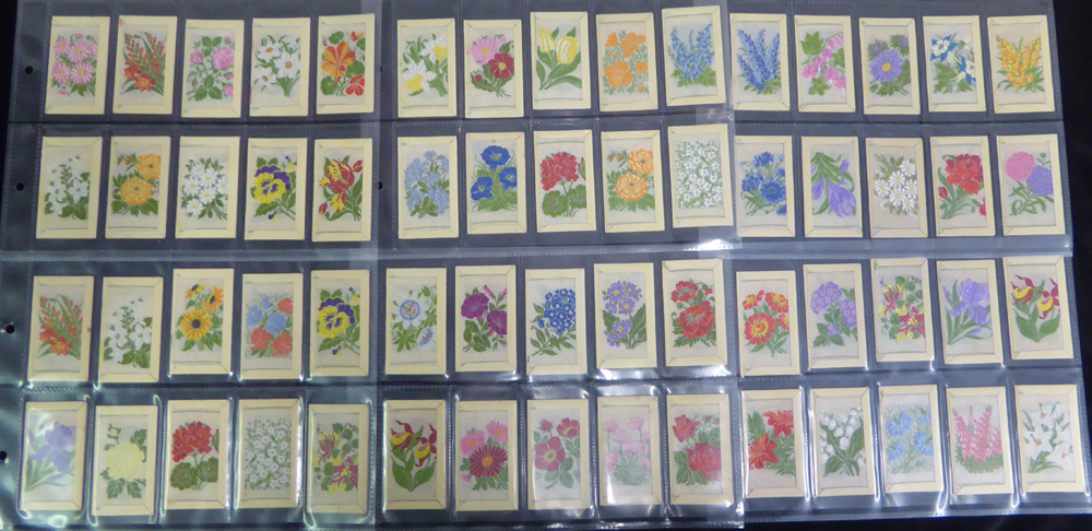 1934 Wix Kensitas Silk Flowers, (60) Cat. £210