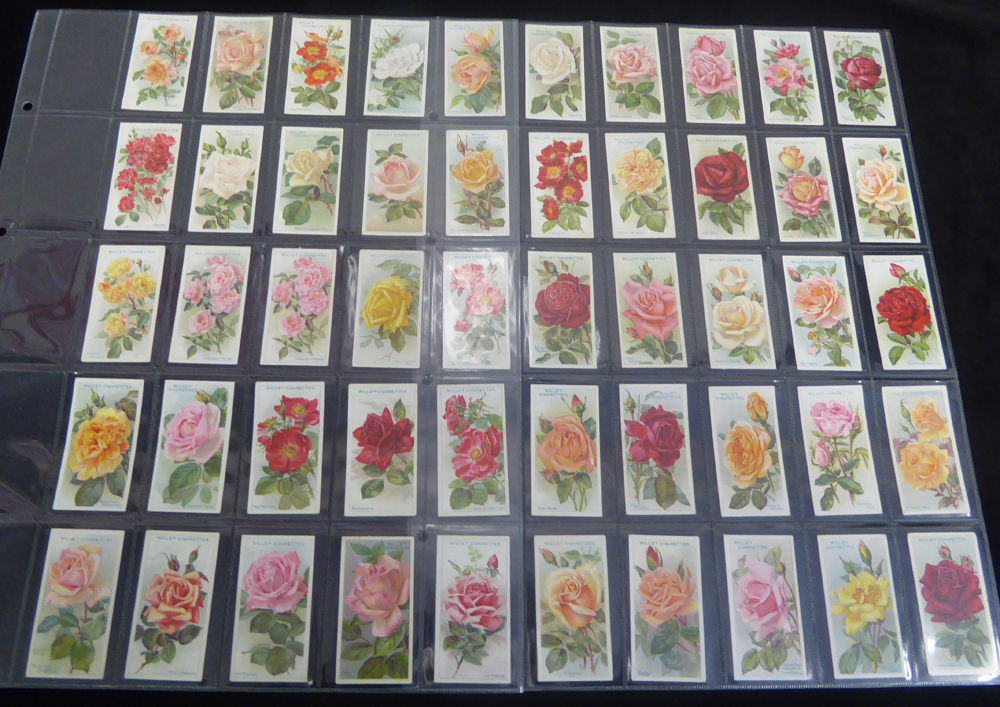 1910-39 x 5 sets of Roses & Flowers