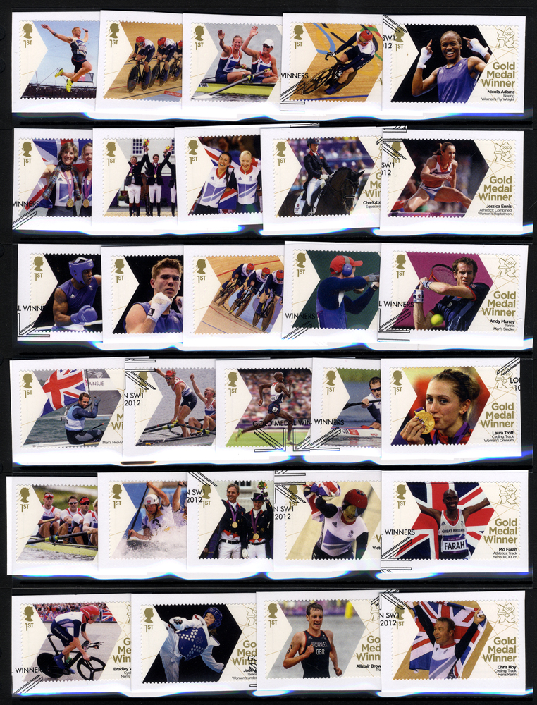 2012 London Olympics British Gold Medal Winners set
