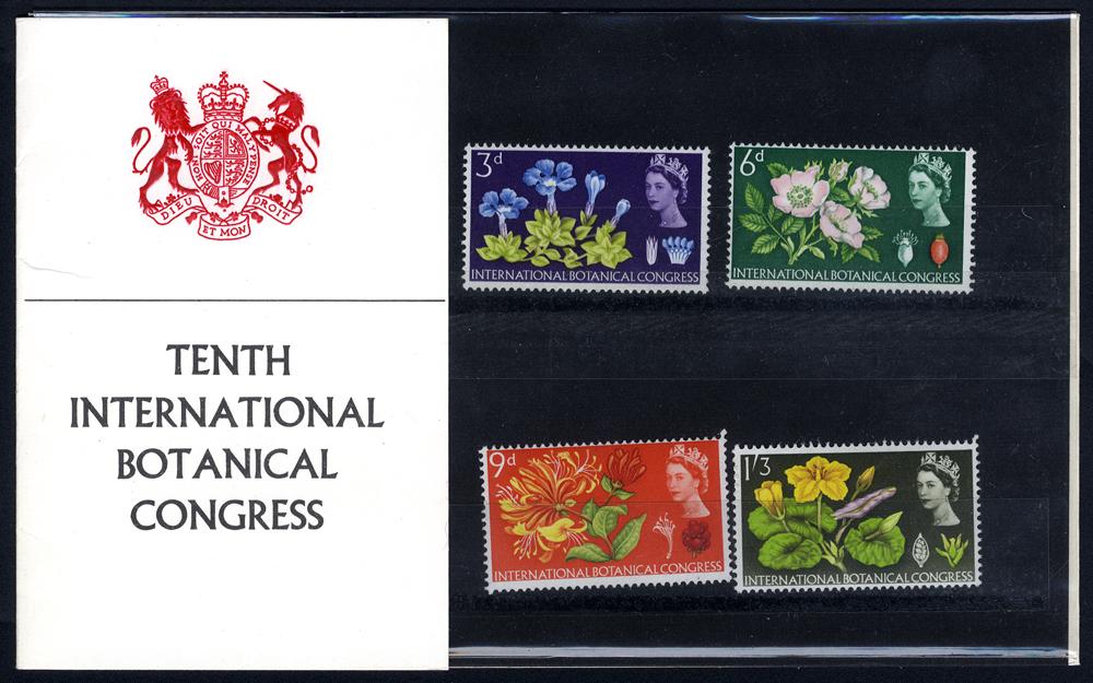 1964 Botanical Presentation Pack