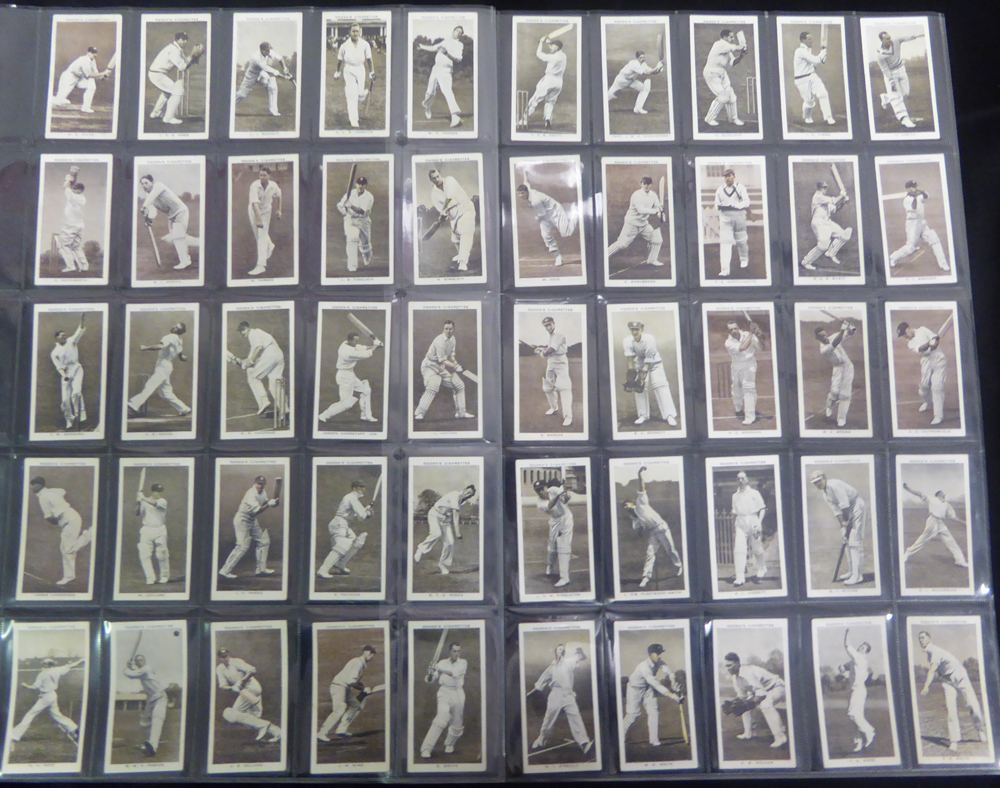 1938 Ogdens Prominent Cricketers of 1938, (50) Cat. £140