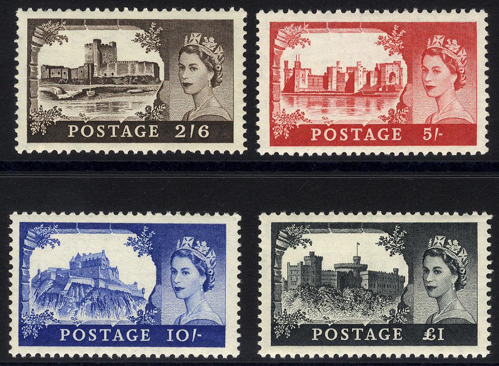 1955 Waterlow Castle set UM