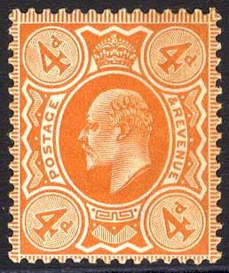 1909 DLR 4d brown orange - UM
