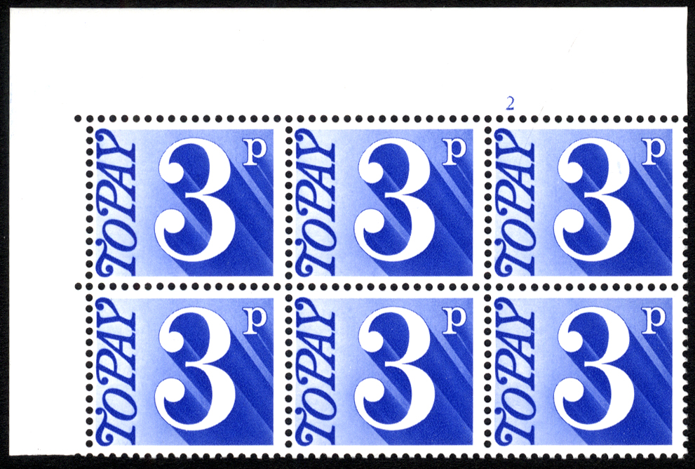 1970-76 3p Cylinder 2 block of six
