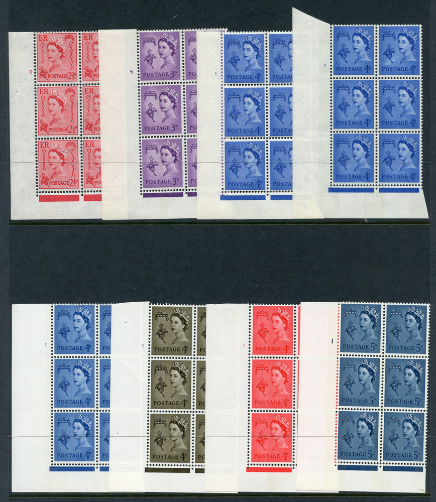 GUERNSEY 1964-68 Cylinder blocks of six (8 different)