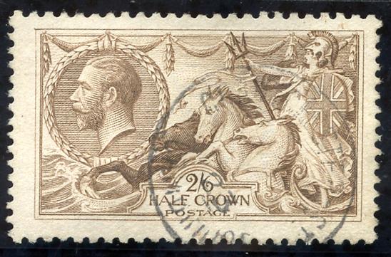 1918 Bradbury 2/6d pale brown, SG.415a
