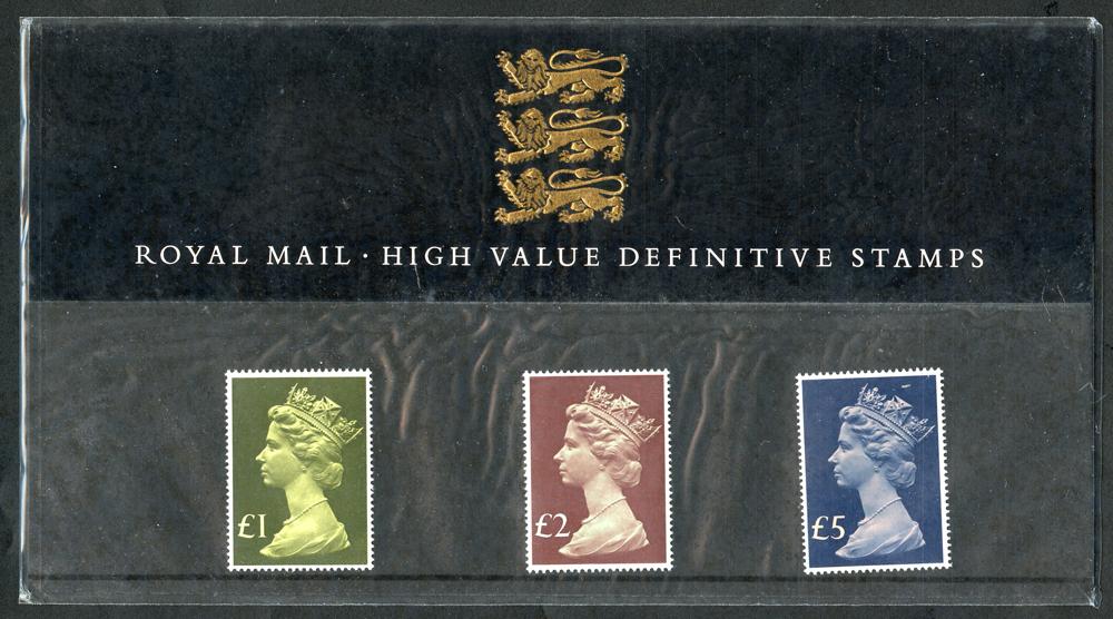1987 High Values Definitive Presentation Pack