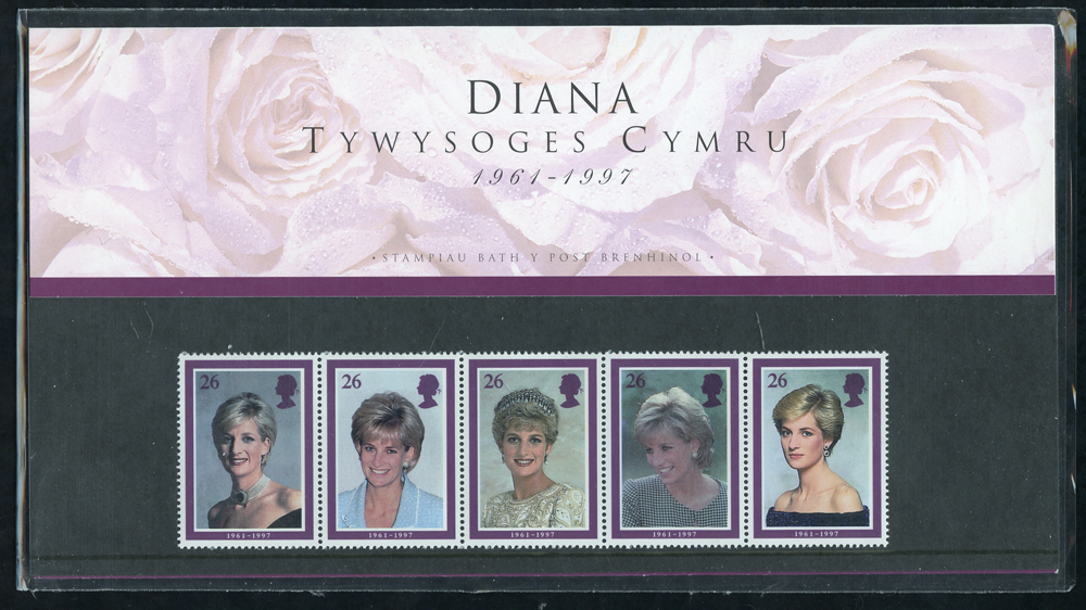 1998 Diana 'Welsh' Edition Presentation Pack