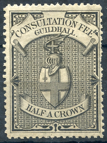 Guildhall Consultation 1892 2/6d black