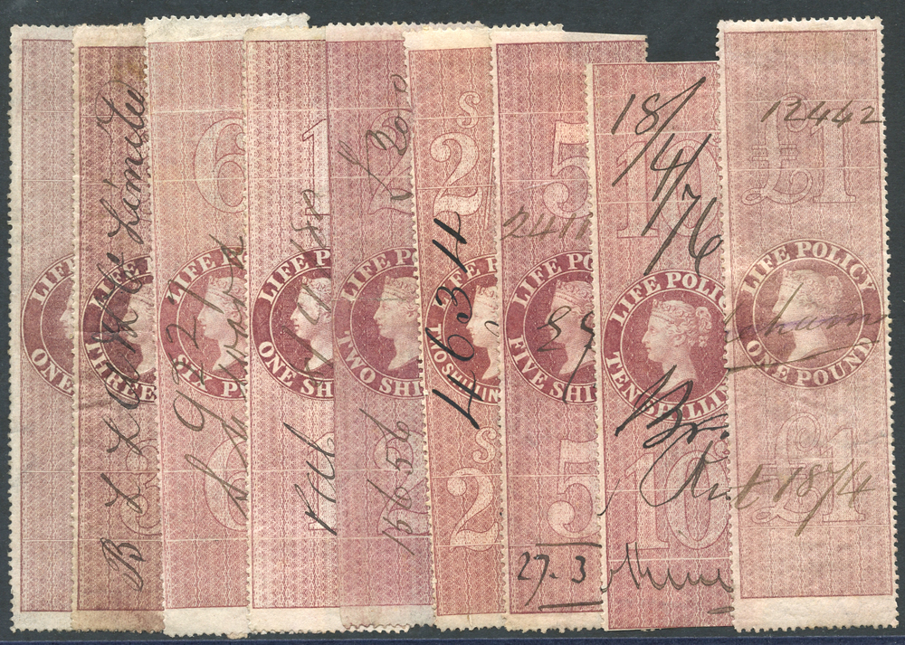LIFE POLICY 1872 perforated