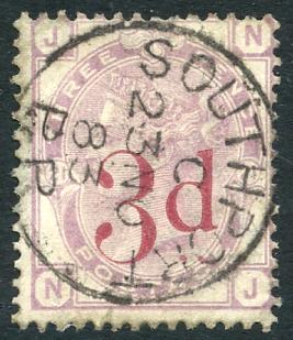 1883 3d on 3d lilac. SG.159