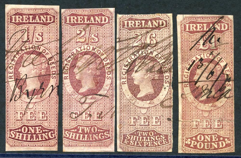 IRELAND REGISTRATION OF DEEDS 1861, Cat. £100