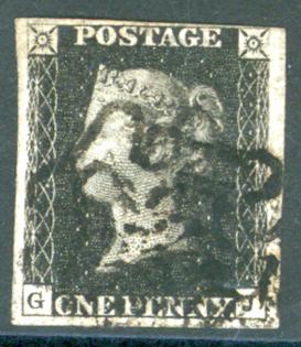1840 1d black Plate 5 GJ