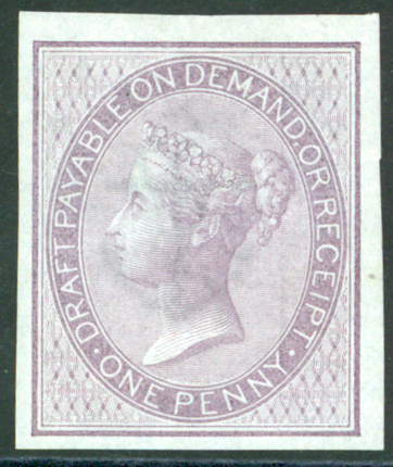 1856 6d lilac, Type L14