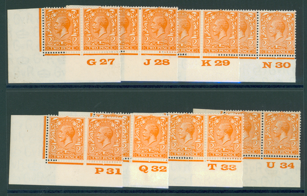 1924 Block Cypher 2d orange SG.421.
