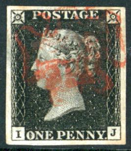 Plate 1b IJ, red Maltese Cross