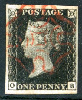 Plate 7 OB, red Maltese Cross