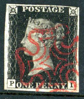 Plate 4 PI, red Maltese Cross