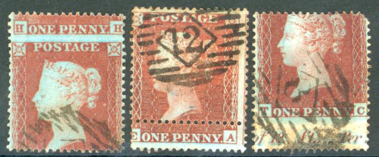 1854-57 1d red stars (3)