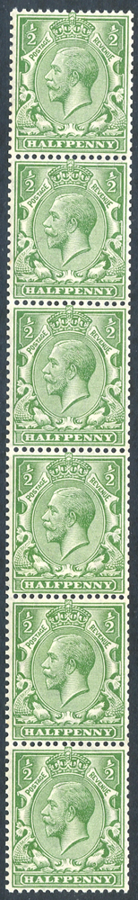 1913 Multiple Cypher ½d bright green