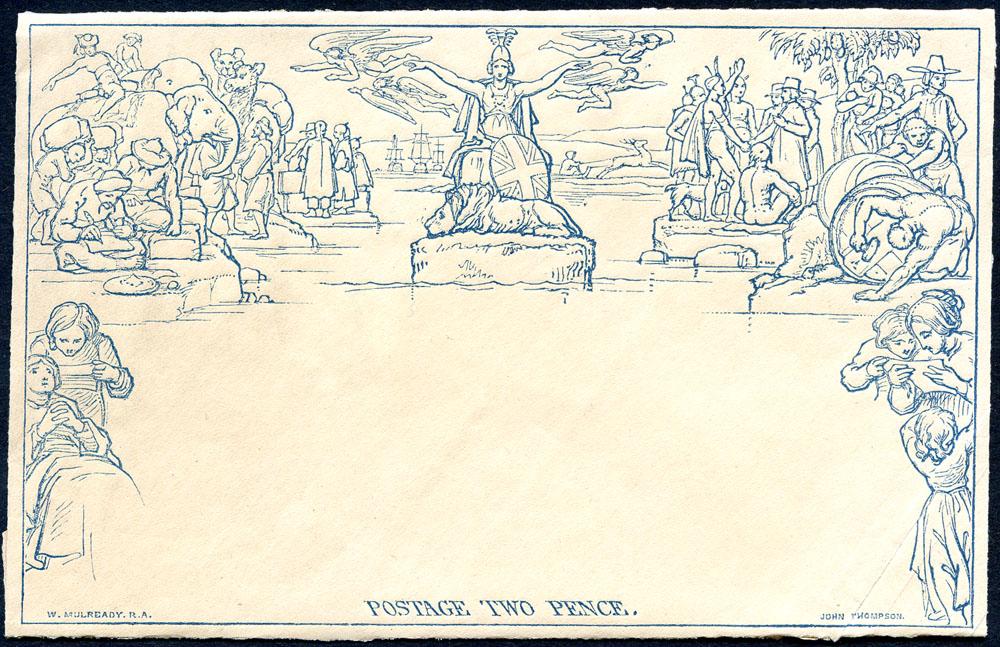 1840 Twopence Envelope