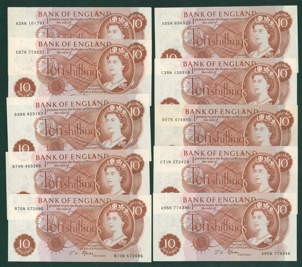 1967 Fforde 10s x 10