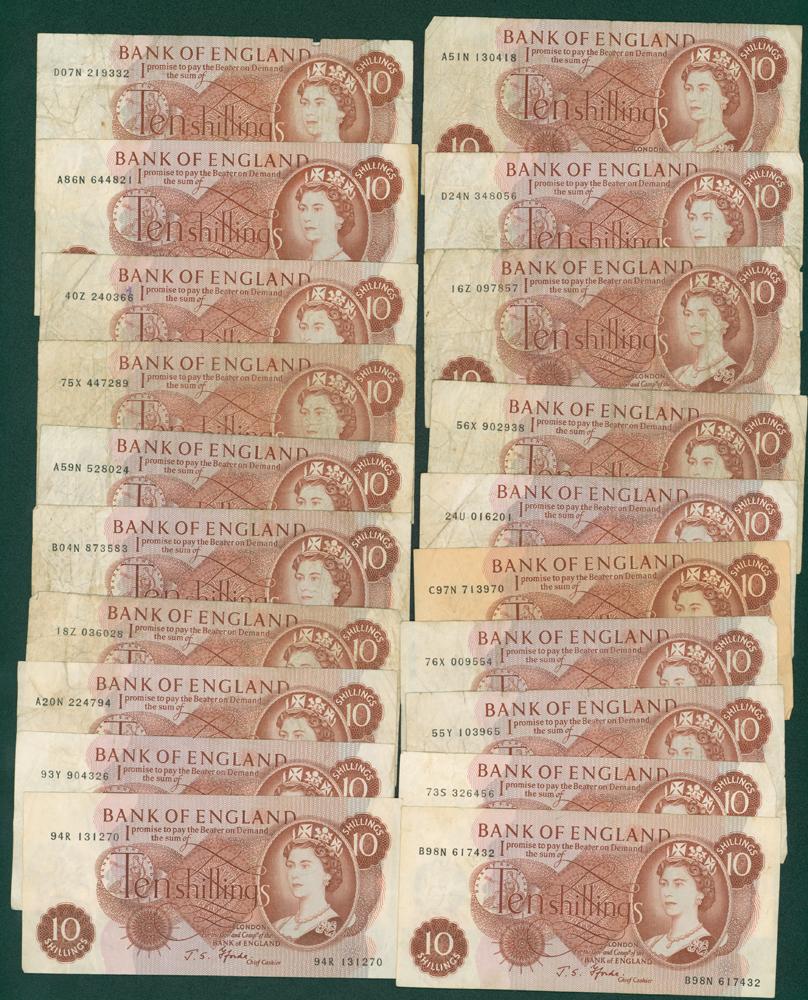 1967 Fforde 10s x 20