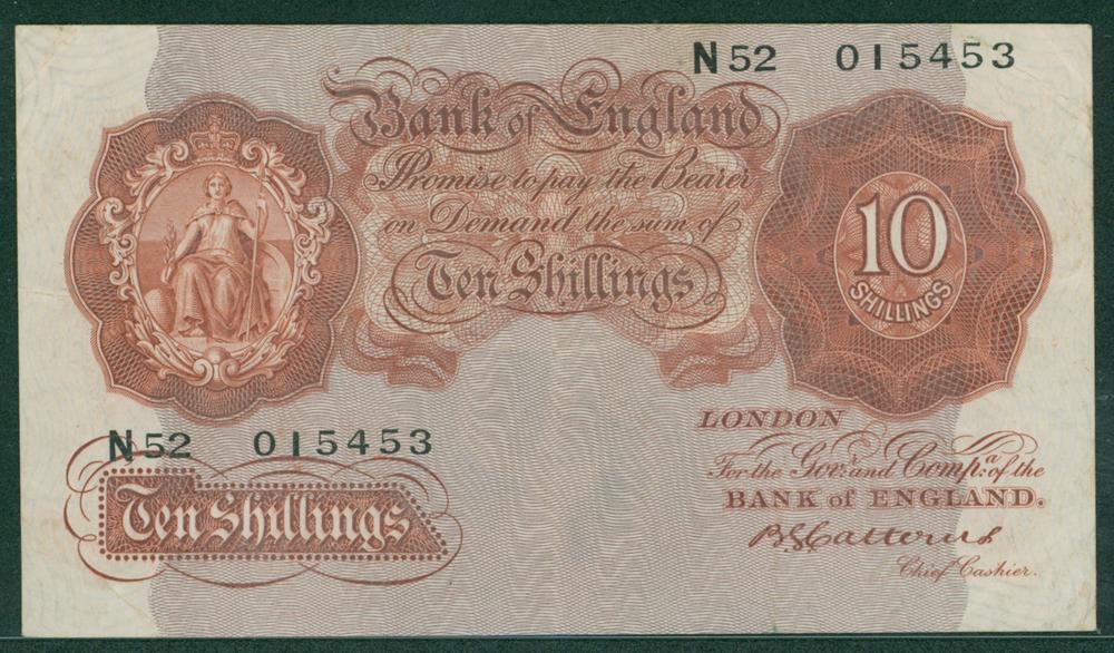 1930 Catterns 10s (N52 015453)