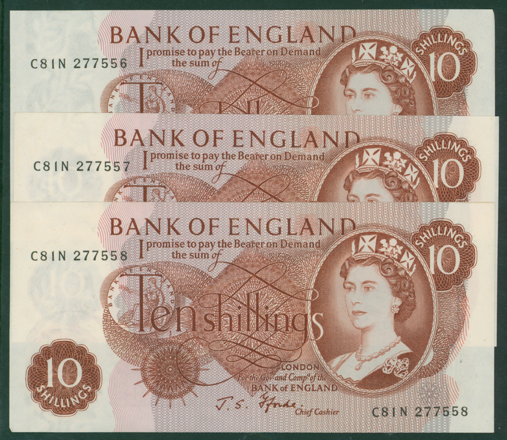 1967 Fforde 10s, consecutive run (3)