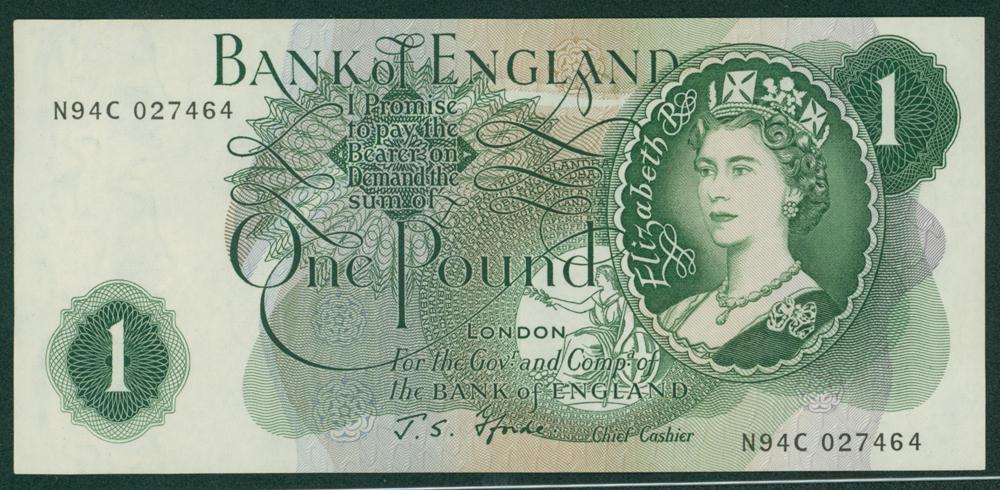1967 Fforde £1 (N94C 027464)