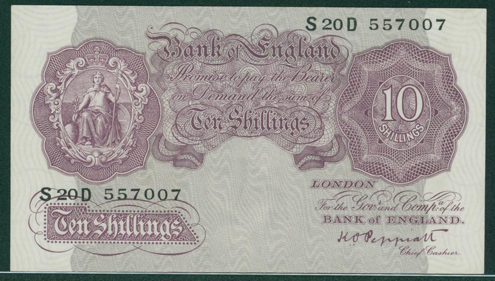 1940 Peppiatt Emergency issue 10s