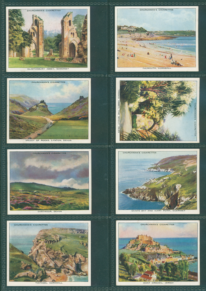 1938 W. A. Churchman Holidays in Britain