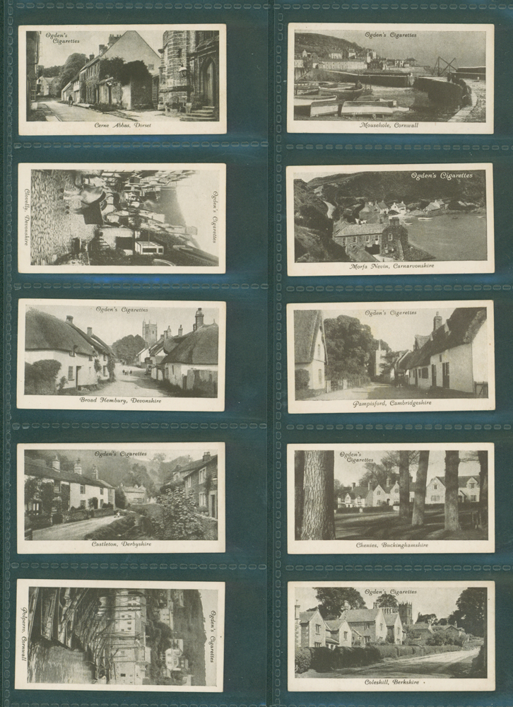 1936 Ogdens Picturesque Villages