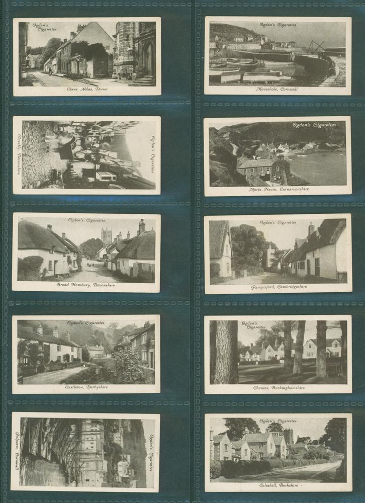 1936 Ogdens Picturesque Villages
