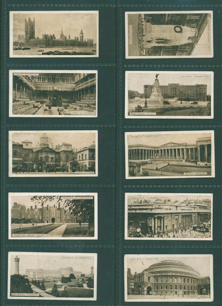 1923 Ogdens Sights of London