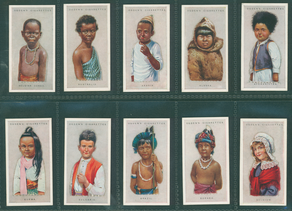 1924 Ogdens Children of all Nations