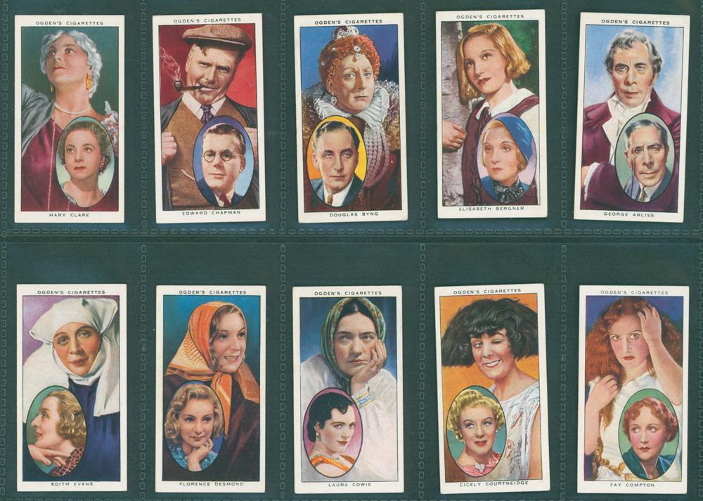 1938 Ogdens Actors, Natural & Character Studies