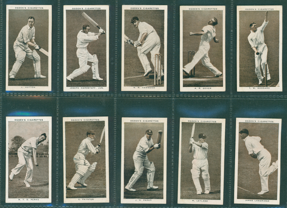 1938 Ogdens Prominent Cricketers of 1938