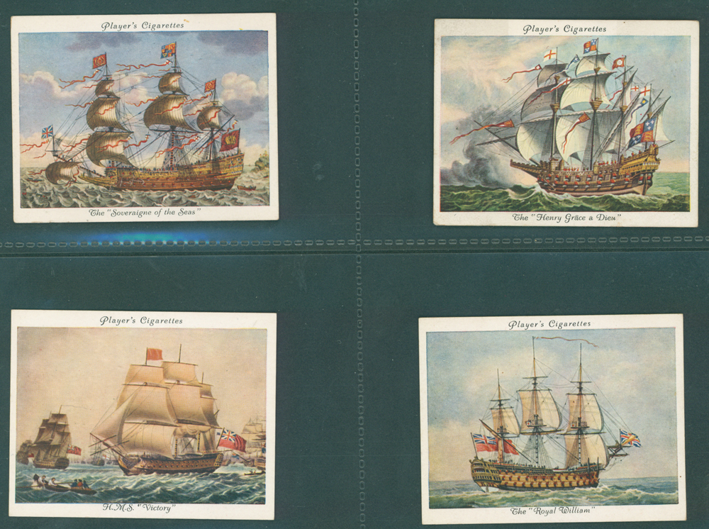 1936 Players Old Naval Prints
