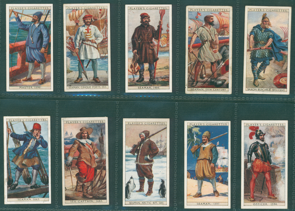 1930 Players History of Naval Dress