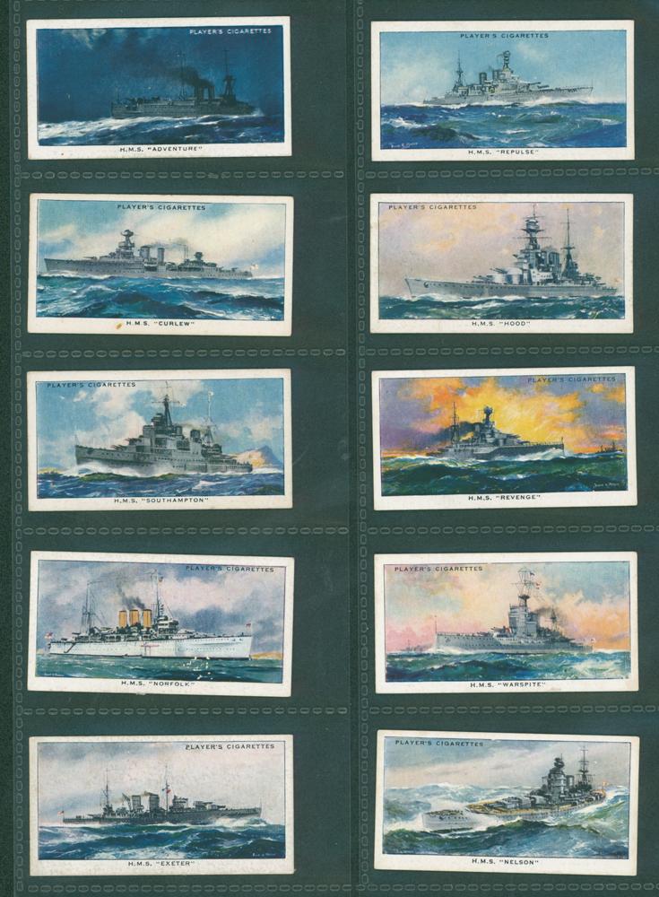 1939 Players Modern Naval Craft