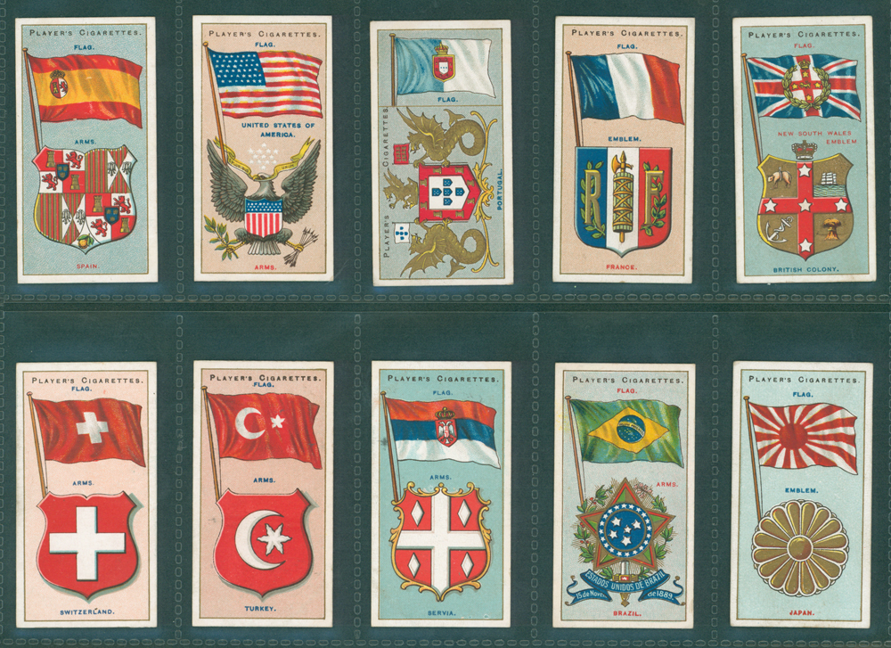 1928 Players Flags of the League of Nations