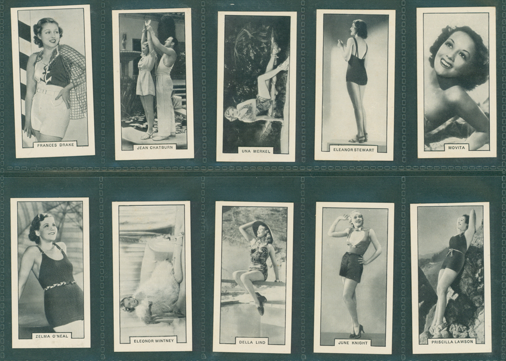 1938 British American Tobacco Ltd Modern Beauties - 2nd Series