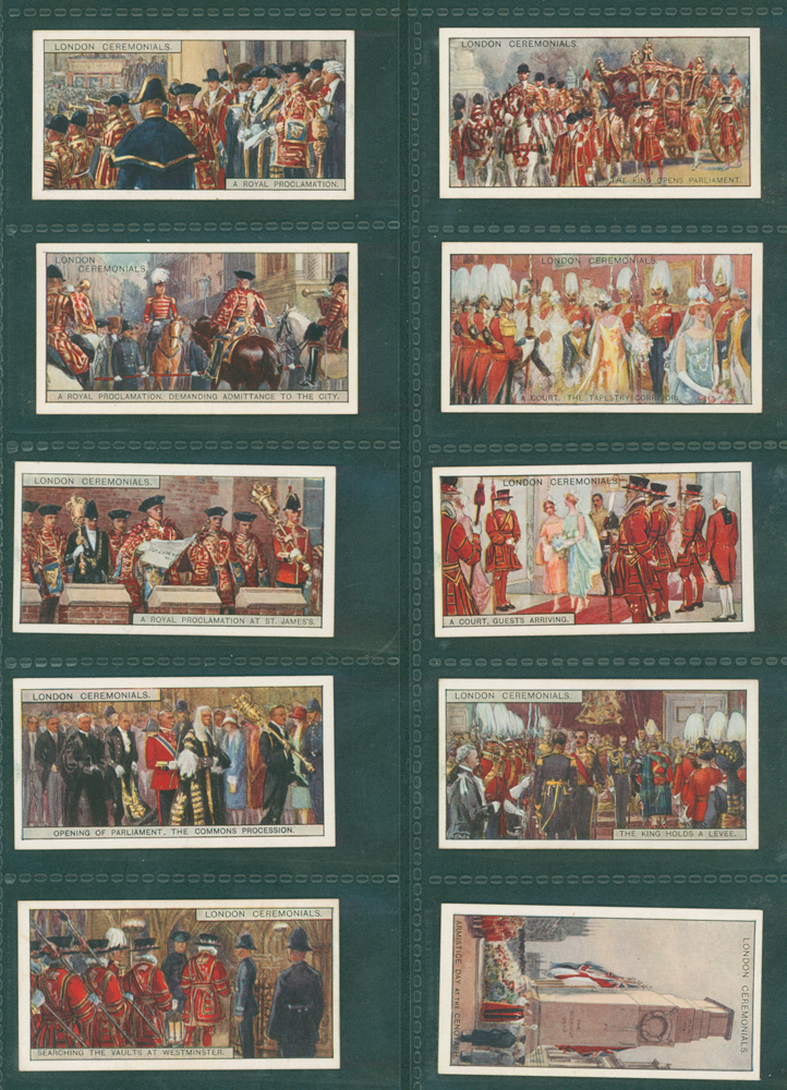 1929 British American Tobacco Ltd London Ceremonials