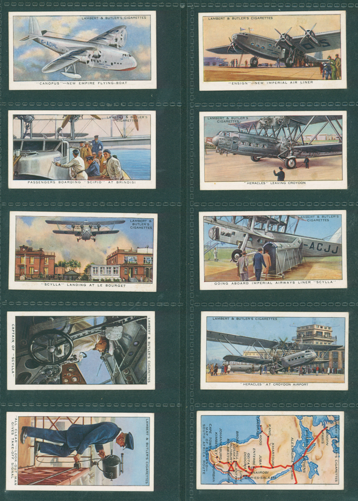 1936 Lambert & Butler Empire Air Routes
